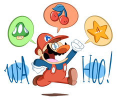 Super WAHOO Bros. by RedBlooper