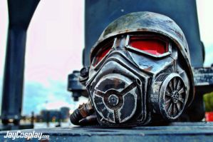 NCR Veteran Ranger v4.0 Helmet (Final) #06 by JayCosplay