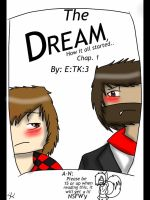 How It All Started: Merome Chap1 The Dream Cover by SonicVsShadow109