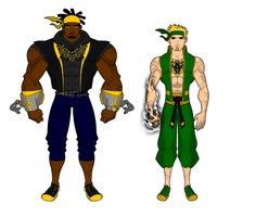 Power Man and Iron Fist  for Bob the Egg by SplendorEnt