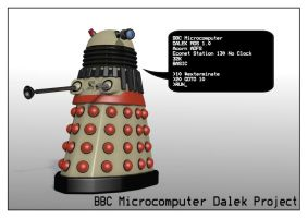 BBC Microcomputer Dalek by HairyDalek
