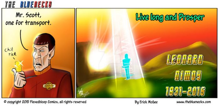 Live Long... by thecartooncynic
