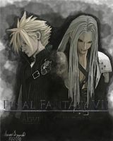 Cloud and Sephiroth, FF7 AC by MunchyCrunchyMan