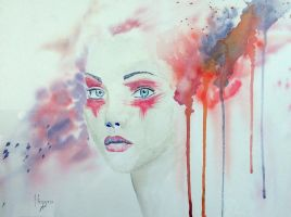 A piece of thought by SteveHeggenAquarelle