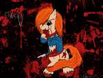 OC: Chucky The Killer Pony :3 by CKittyKat98