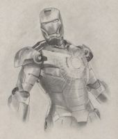 Iron man by Slow-Bullet