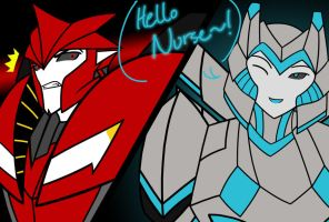 TFP: Hello Nurse~! by AuroraFox