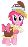 Pinkie is Chancellor Puddinghead by J-Brony