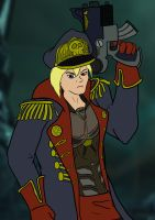 Commissar Calhoun by Bleu-Ninja