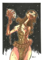LEELA ZOMBIE VARIANT by leagueof1
