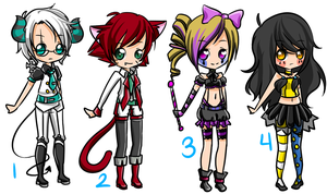 Detailed Circus Group BATCH 20 CLOSED by AniiChiiAdopts
