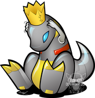 Me Grimlock... (vectorized) by Sidian07