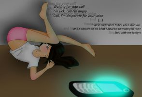 Your call by pandawhoeatscockie