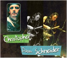 Christopher 'Doom' Schneider by Fists-Of-Rock