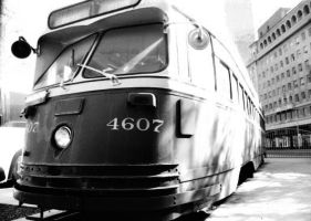 Some Old Bus in Phoenix by Zhonaluz