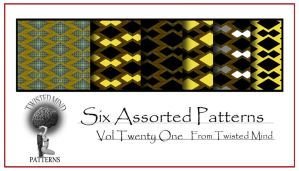 Twisted Mind Assorted Pattern Set 21 by Textures-and-More