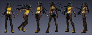 3D character practices by Mechanubis