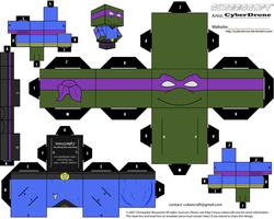Cubee - 1st Officer Donatello by CyberDrone