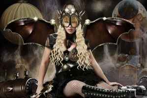 Steampunk Angel by tinca2