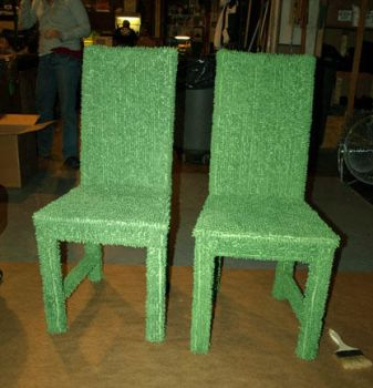 Green Topiary Chairs by RHW-Vision