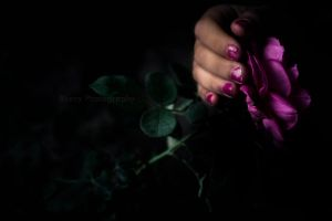 holding a secret by Blurry-Photography