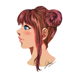 New style test portrait by x-Lilou-chan-x