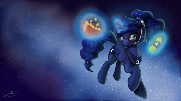 Gamer Luna by The-Park