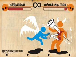 Me VS Throat Infection by BLUEgarden
