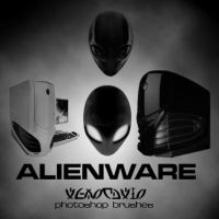 Alienware Photoshop Brushes by hod-master
