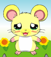 My hamster OC, Buster by Pandalove93