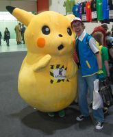 MCM Expo May 2014 99  Pikachu and Ash by cosmicnut