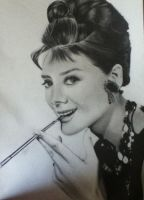 Audrey Hepburn by Chiedere