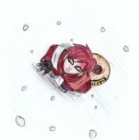 +Snow Kiss+ by Riku-X-Gaara