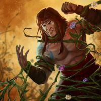 Strangling Vines by pinkhavok