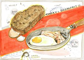 #daily056 Today's Breakfast (8) by tinashan