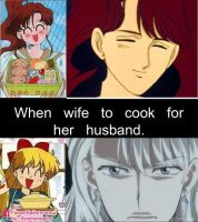 When wife to cook for her husband by anemoneploy