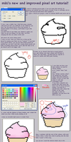 PIXEL ART TUTORIAL by purple-sprinkles