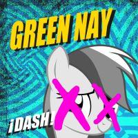 Green Nay Dash Cover by Stratolicious