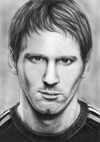 Lionel Messi by AnaAosPedacos