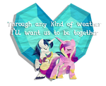 Shining Armor + Cadence Valentine by Left2Fail