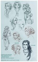 Sketches 2 by shideh