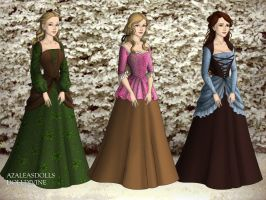 The Three  Fairest by iridescentwings3911