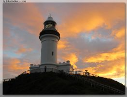 Cape Byron - Sunset by JohnK222