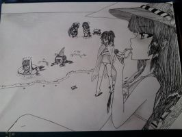 Draw Mirage Noir Summer by MisukiShimido