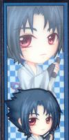 Sasuke Uchiha bookmark by chuchino37