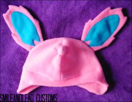 Male Nidoran Hat by SmileAndLead
