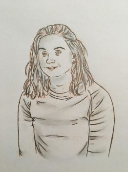 Portraiture Trial #2 by Sarahfish28