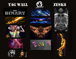 Tag Wall No.11 by zesk8