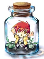 ToDa- Radian in a bottle by T3hb33