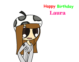 special request happy Birthday Laura by loue1